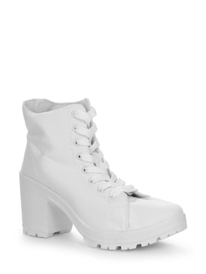 Ботинки белые   4539327