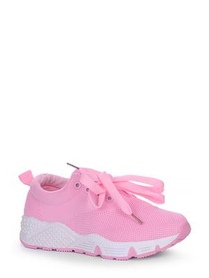 Кроссовки розовые | 4539334