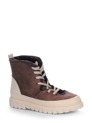 Ботинки коричневые | 4539350