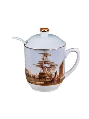 Чашка заварочная с ложкой (300 мл)   4540254
