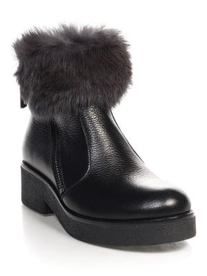 Ботинки черные   4518981