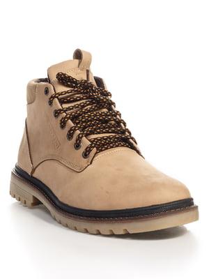 Ботинки бежевые | 4534699