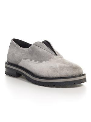 Туфли серые   4540636