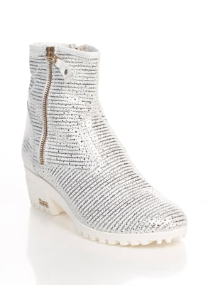 Ботинки серебристого цвета | 4494879