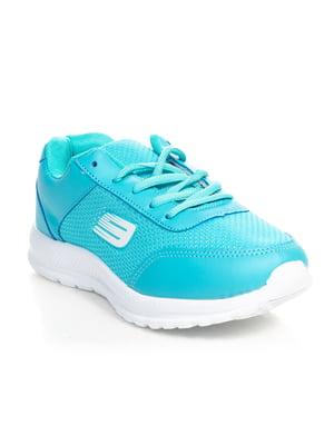 Кроссовки голубые | 4466227