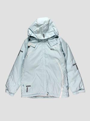 Куртка світло-блакитна | 27966