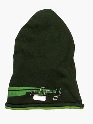 Шапка темно-зеленая | 361366