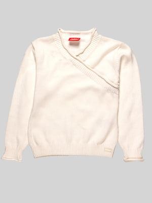 Пуловер белый | 23555