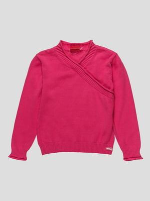 Пуловер малинового кольору | 23556