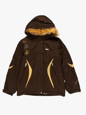 Куртка цвета хаки | 4398006