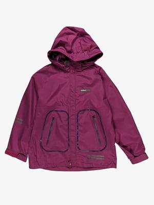 Куртка фіолетова | 4398030