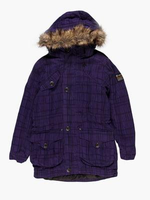Куртка фіолетова | 4398038