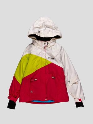 Куртка триколірна | 4398039
