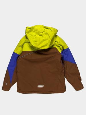 Куртка триколірна | 4398040