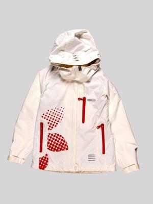 Куртка молочного кольору   4398070