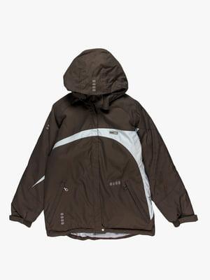 Куртка темно-сіра | 4398241