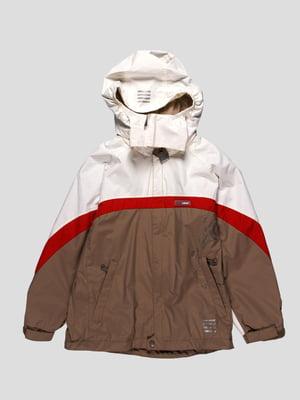 Куртка двоколірна з оздобленням | 61440