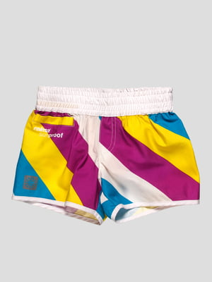 Шорты голубо-фиолетовые пляжные | 402038