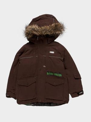 Куртка коричнева | 55243