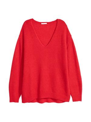 Пуловер червоний | 4544133