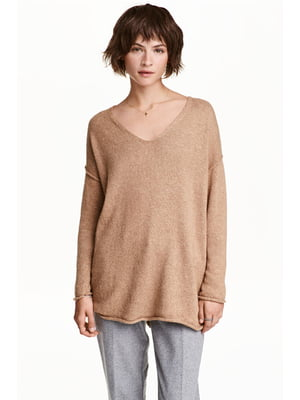 Пуловер бежевый | 4544567