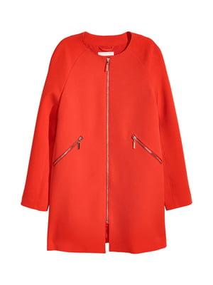 Пальто красное | 4544945