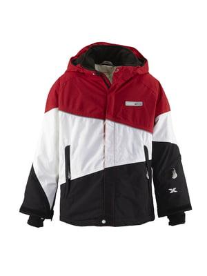 Куртка триколірна | 4398066