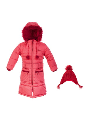 Комплект: пальто і шапка | 4545924