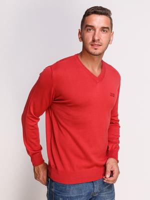 Пуловер червоний | 4532497