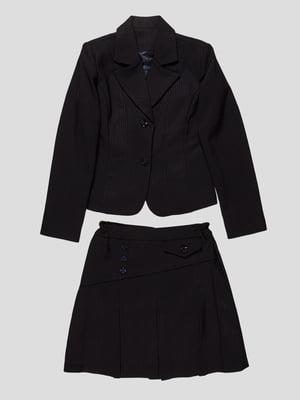 Костюм-двойка: жакет и юбка | 4470400