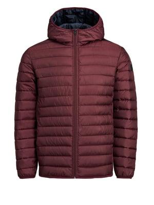 Куртка бордовая | 4472308
