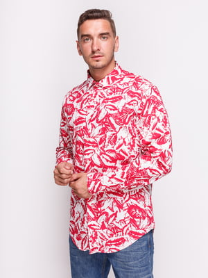 Рубашка в принт | 4522189