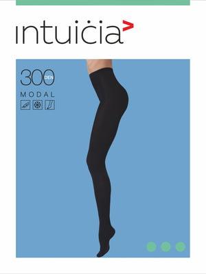 Колготки черные 300 Den | 4546767