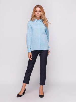 Рубашка голубая | 4547648