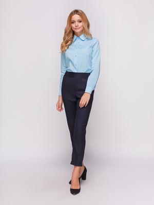 Рубашка голубая | 4547656