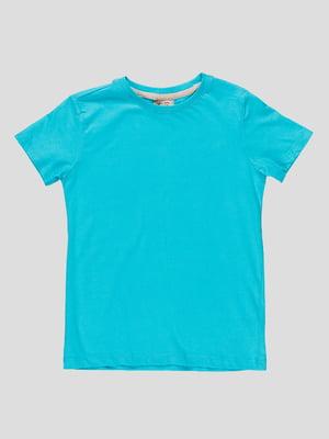 Футболка блакитна | 4506564