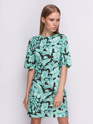 Платье в цветочный принт   4505943