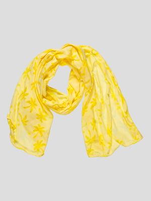 Шарф жовтий | 4507784