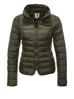 Куртка цвета хаки | 4547935