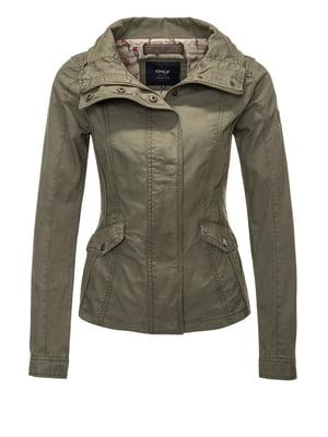 Куртка кольору хакі | 4547939