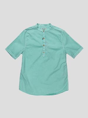 Сорочка м'ятного кольору | 4506442