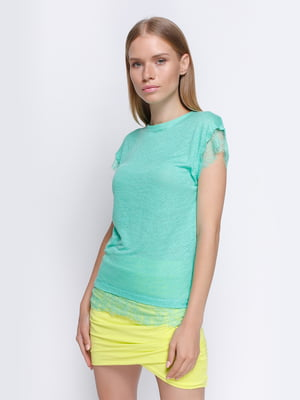 Блуза бирюзовая | 4508007