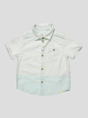 Рубашка светло-зеленая | 4520413