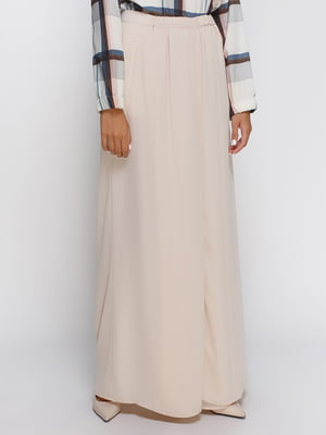 Брюки-юбка бежевые | 4505850