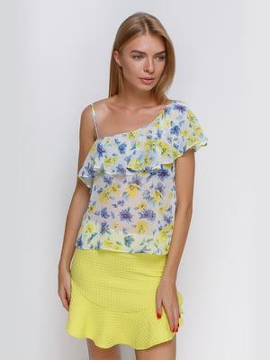 Блуза в цветочный принт | 4519382