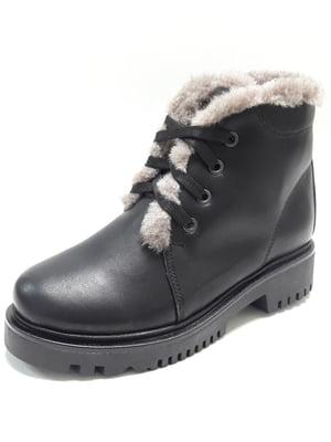 Ботинки черные | 4549288