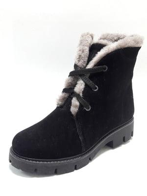 Ботинки черные | 4549289