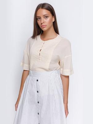 Блуза светло-желтая | 4507496