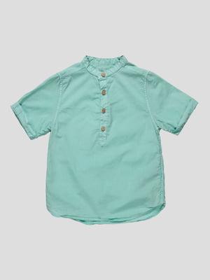 Сорочка м'ятного кольору | 4507544