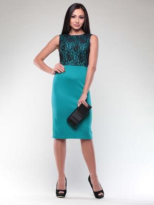 Платье бирюзовое   4549350